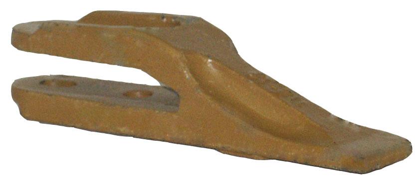 Gabelzahn z. anschrauben m. Lochabstand 40-45mm
