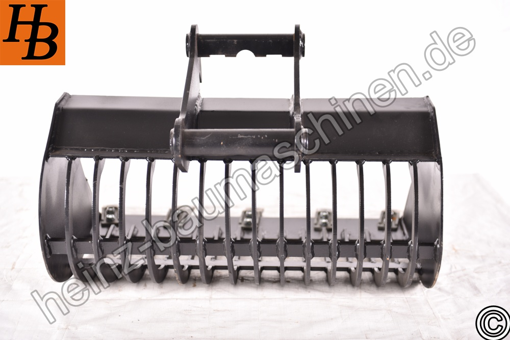 Sieblöffel Sortierlöffel Gitterlöffel 800mm MS03 SW03 QC03 SY KL2