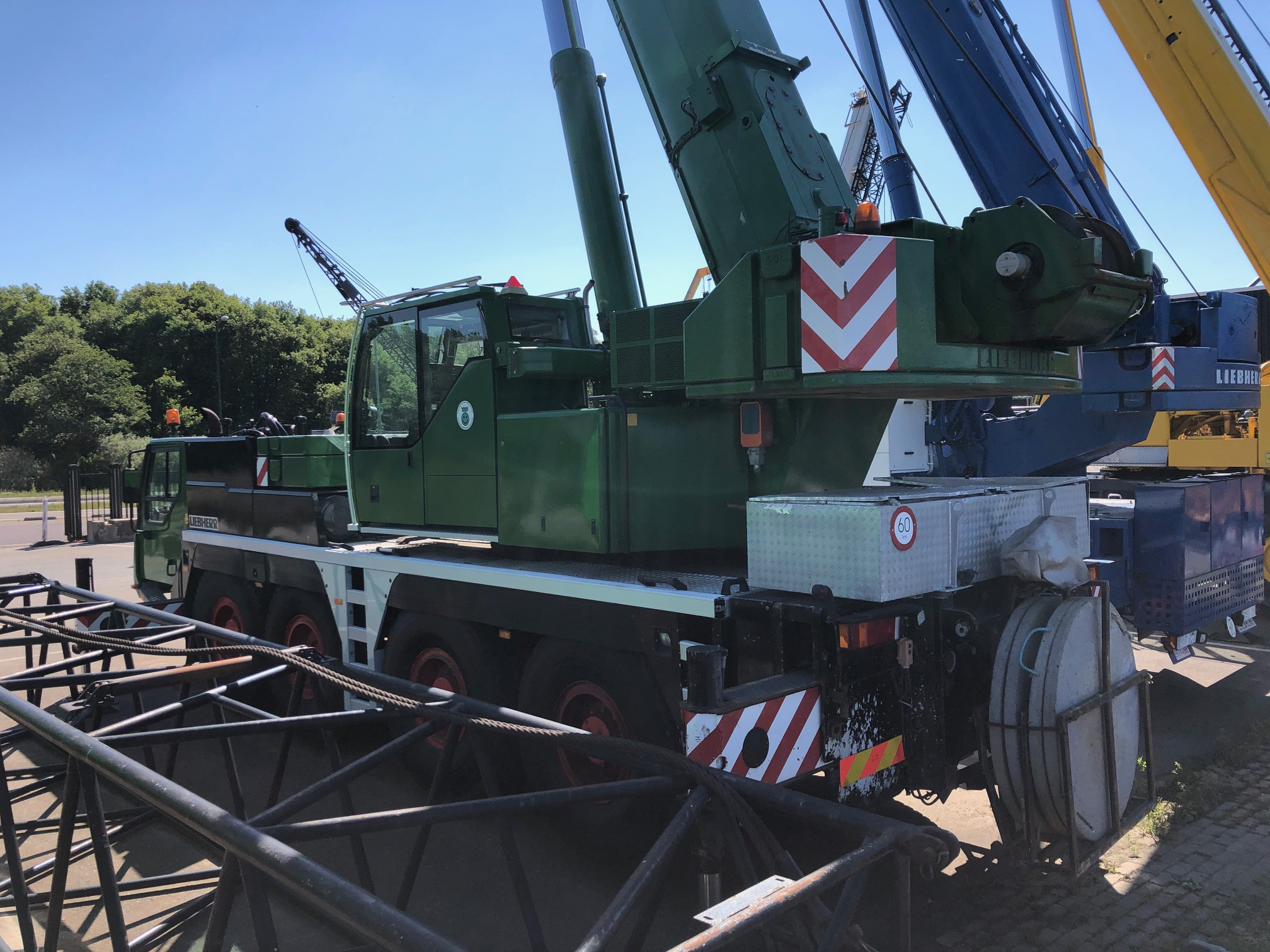 Liebherr LTM1070-4,1 from 2005 for sale