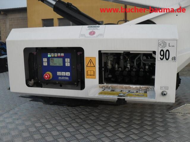 LKW-Arbeitsbühne Oil & Steel Snake 2010 – Auf Nissan Cabstar – 2x vorhanden