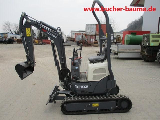 Minibagger Schaeff TC10z – Lagergerät, neu, mehrfach vorh.
