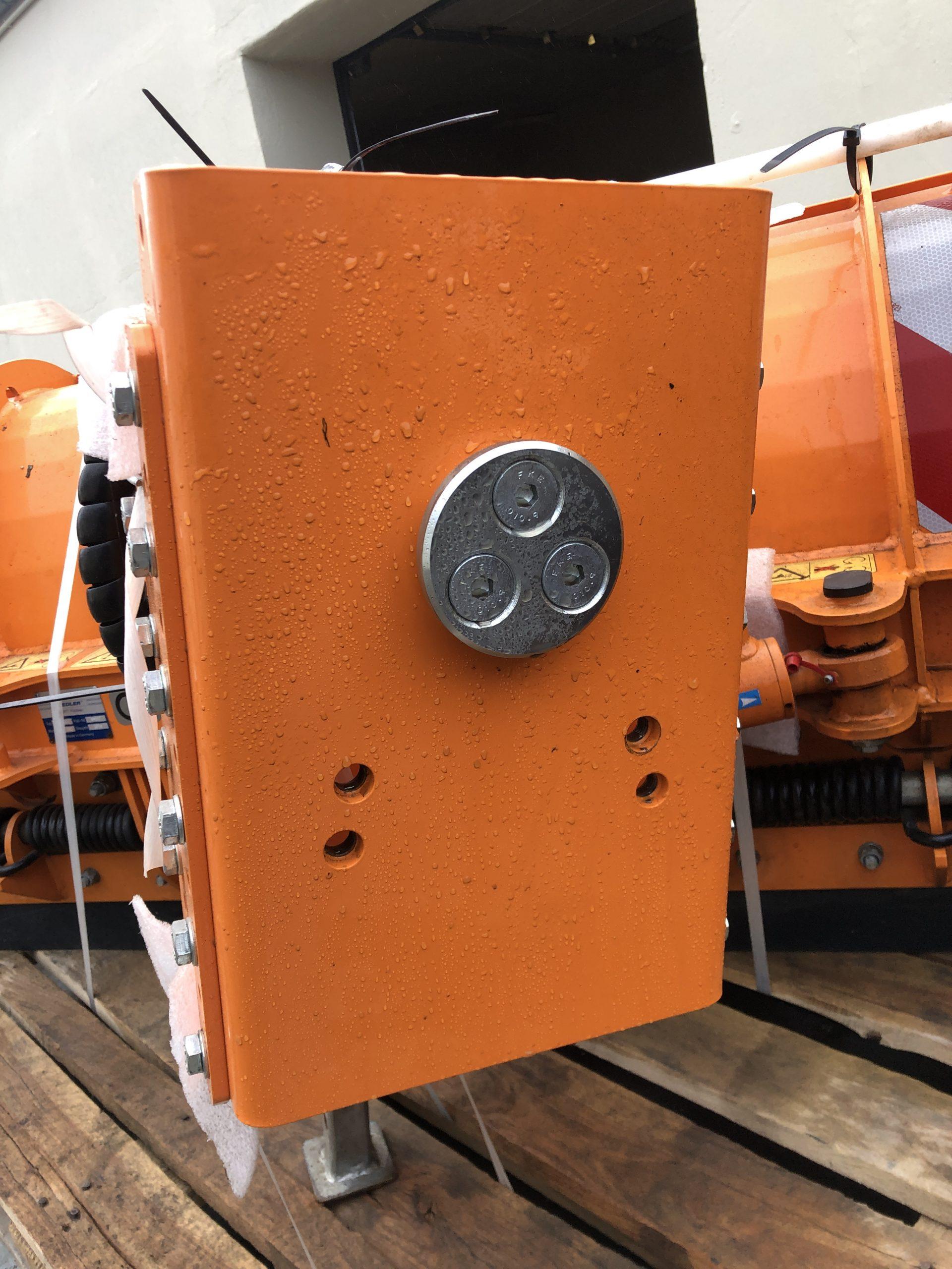 Fiedler FRS 1310 * 130 cm Federklappenräumschild * unbenutzt