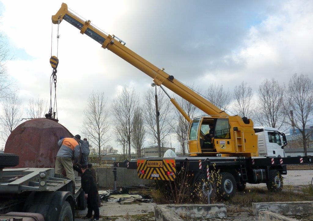 Mobile crane Hidrokon HK 30 18 T2 – 10 ton