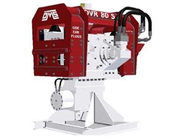 Vibro hammer OVR 80S excavator mounted