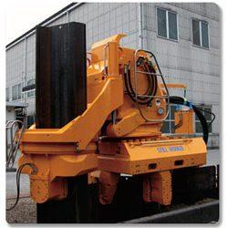 Pile press WP150 – steel sheet piles