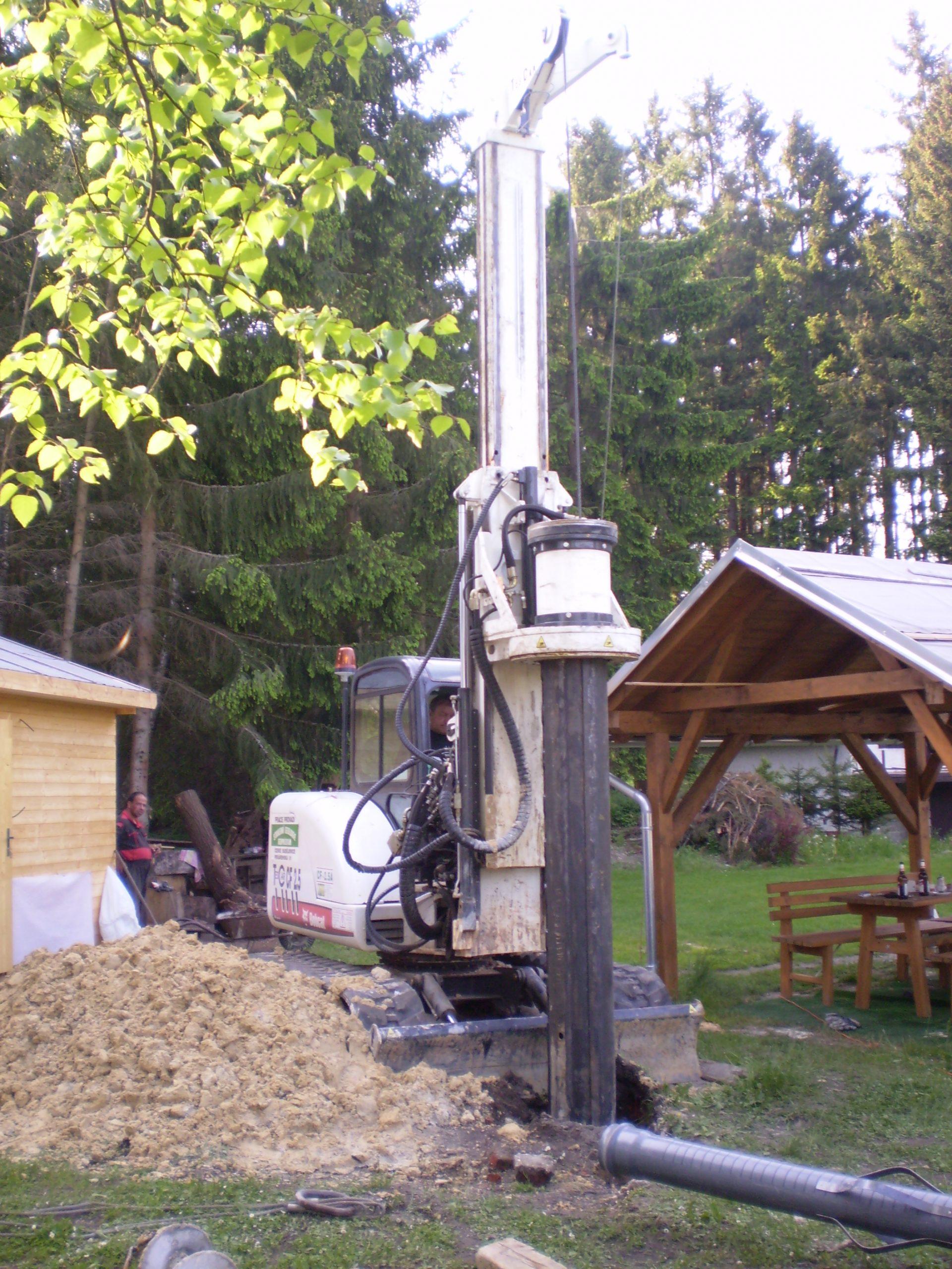 New piling / drilling rig  Tescar CF2.5