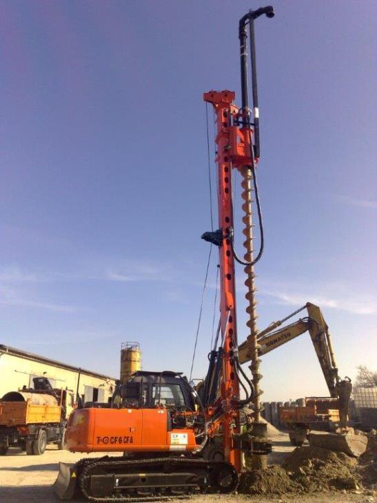 New piling / drilling rig  Tescar CF6 CFA