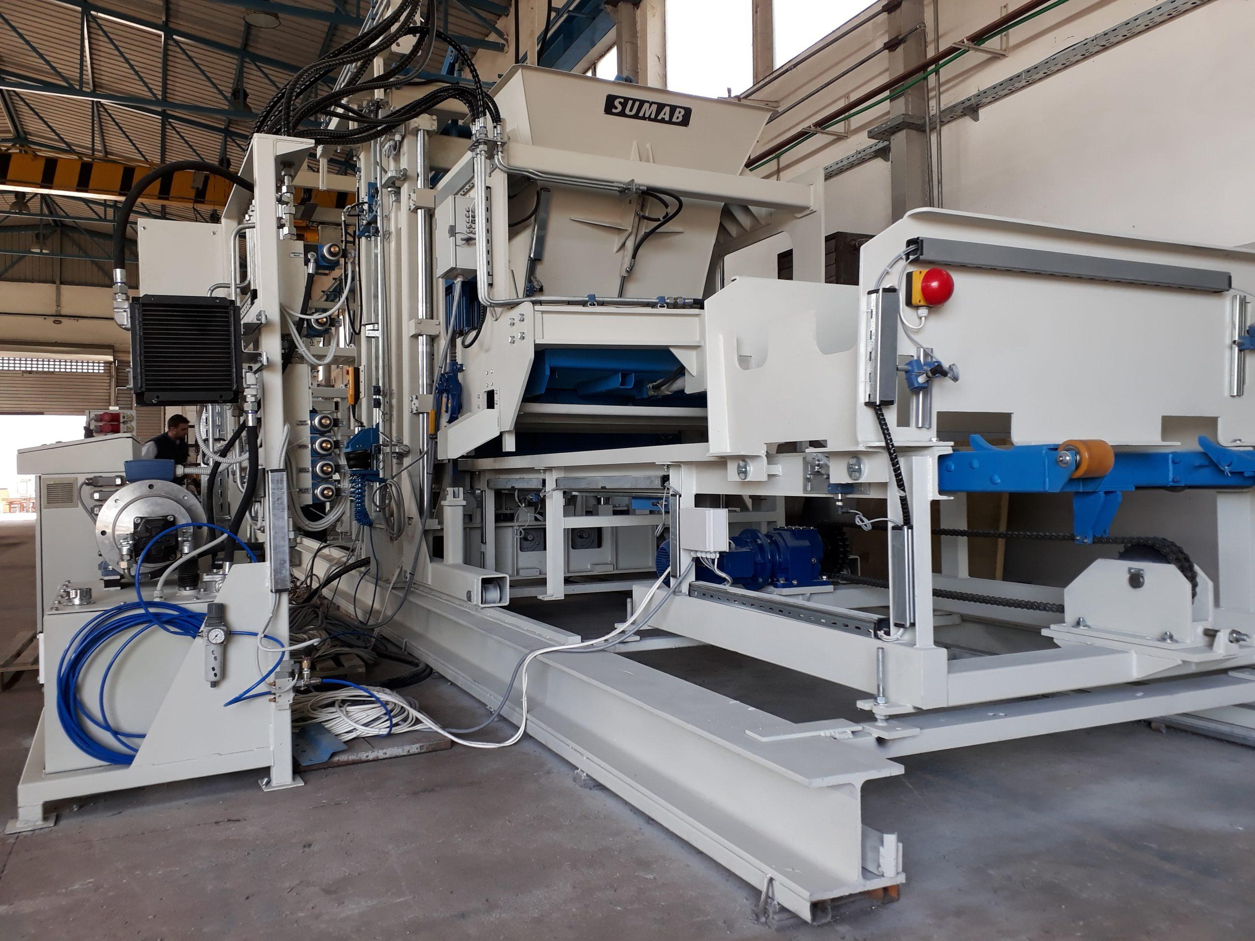 Stationäre Blockmaschine SUMAB R-500