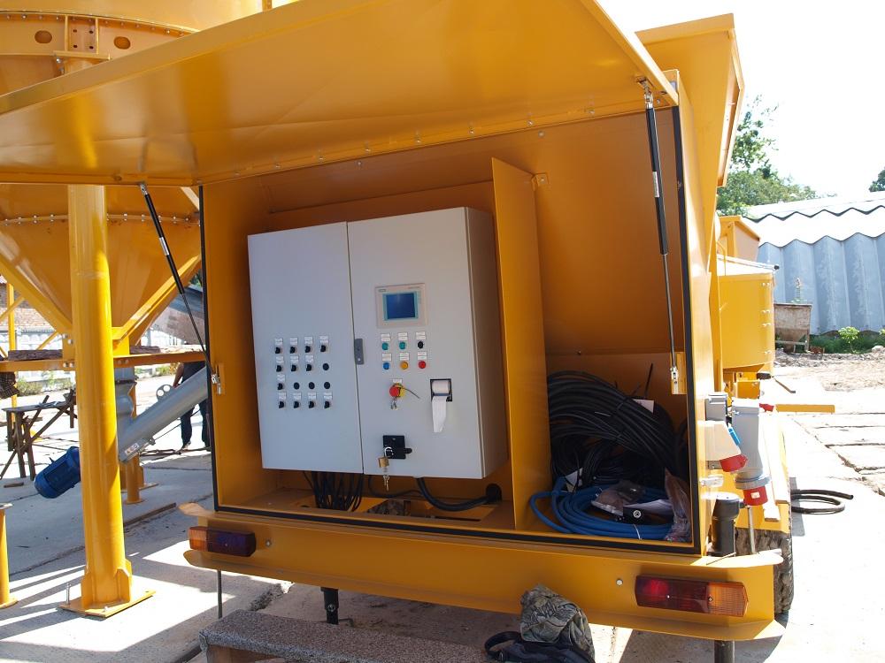 Betonanlage SUMAB KL-20 auf Fahrgestell