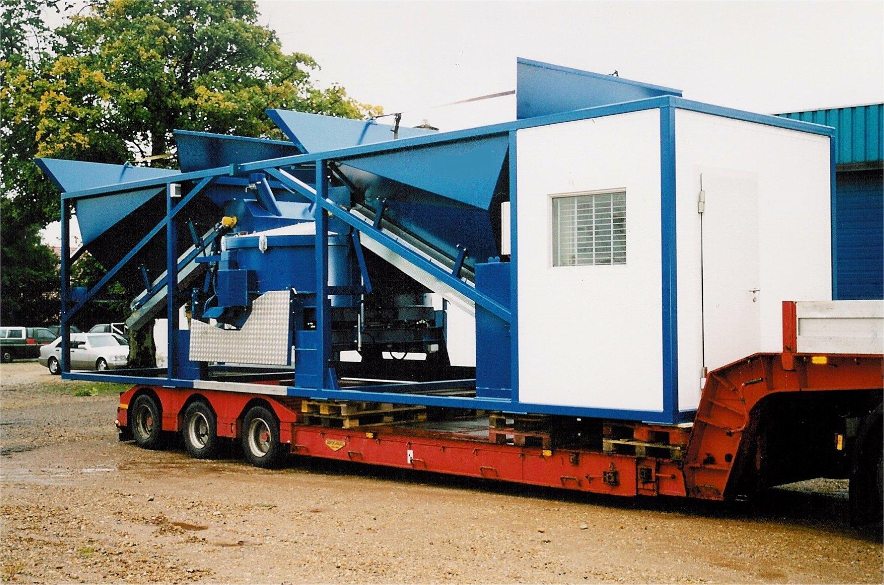 Betonmischanlage SUMAB K80