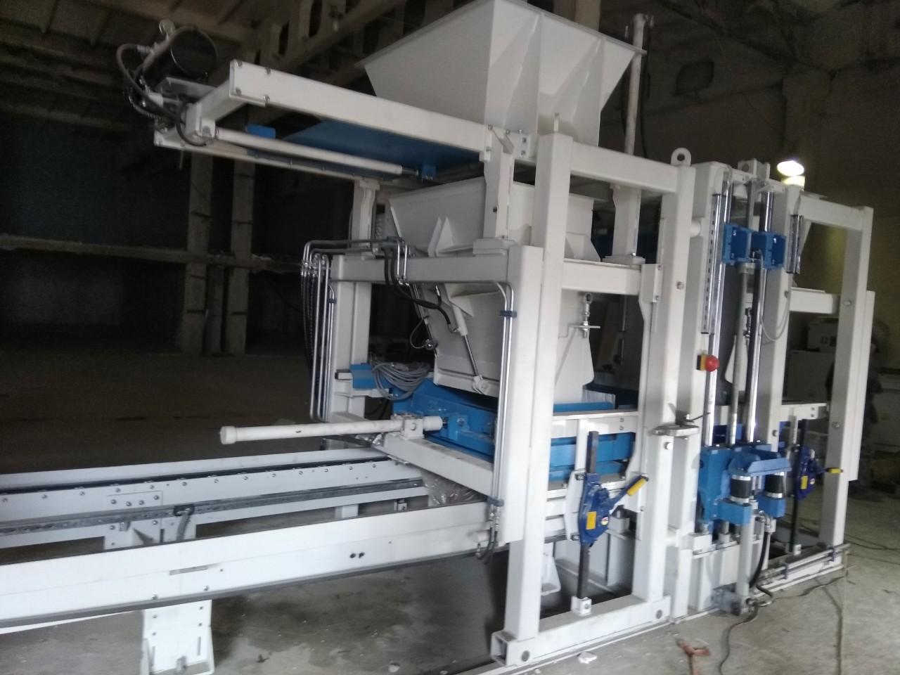 Blockmaschine SUMAB R 400