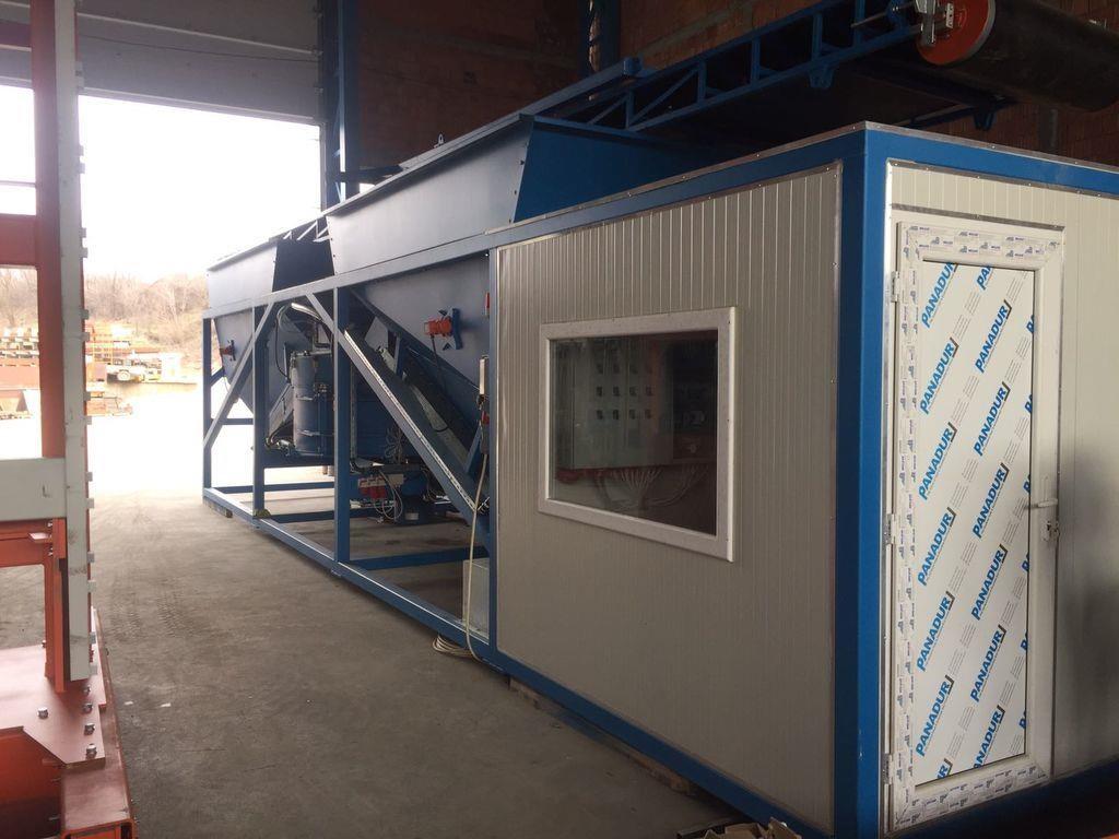 Containerisiertes mobiles Betonwerk SUMAB K-60