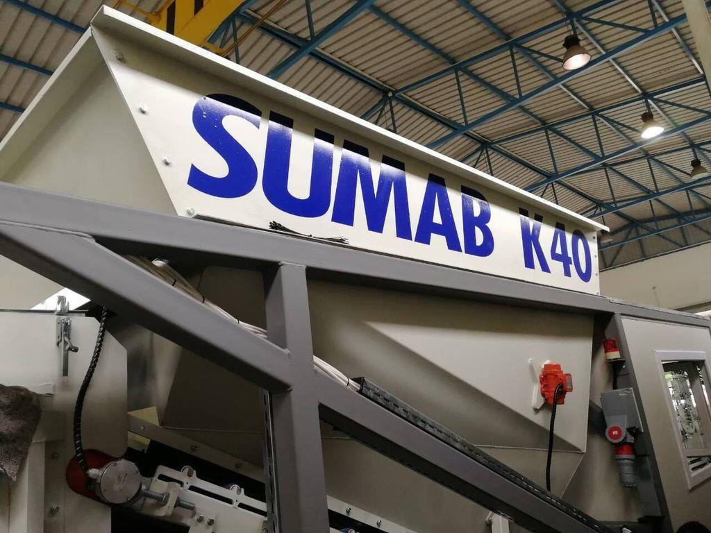 Mobiles Betonwerk Sumab K-40.