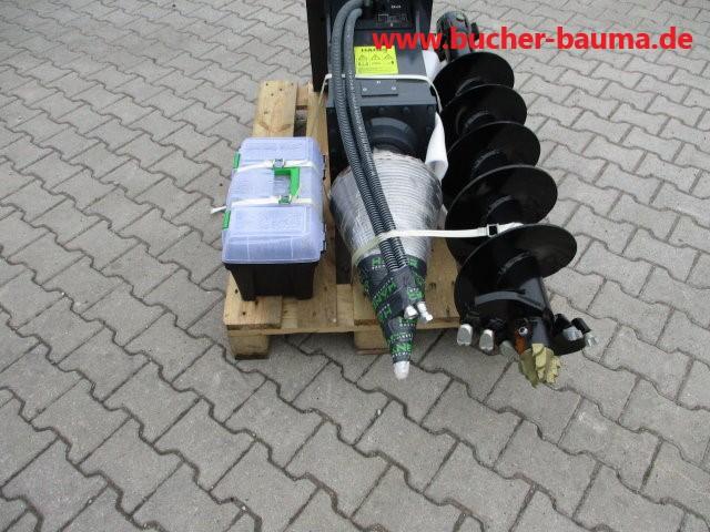 Holz Kegelspalter – auch Bohrgerät für Bagger