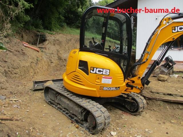 Minibagger JCB 8035ZTS